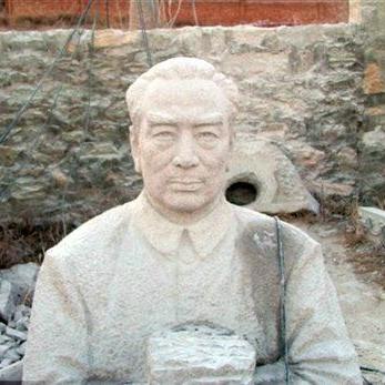 【人物雕塑1344】现代名人石雕胸像价格