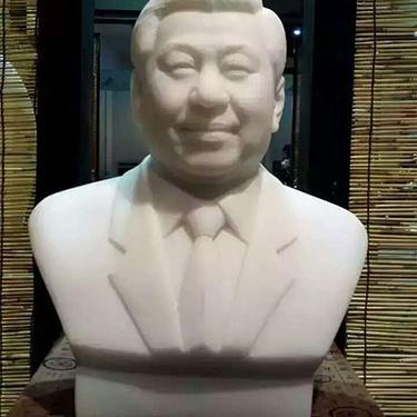 【人物雕塑1346】现代名人石雕胸像雕刻厂