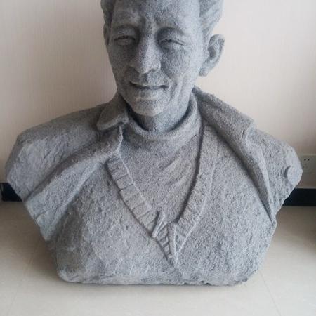 【人物雕塑1347】现代名人石雕胸像厂