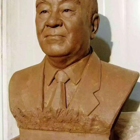 【人物雕塑1348】现代名人石雕胸像批发