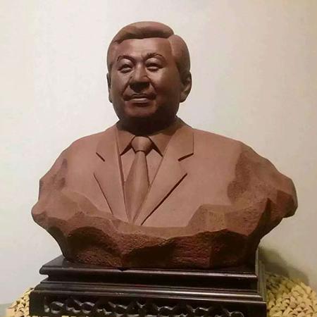 【人物雕塑1349】现代名人石雕胸像定制