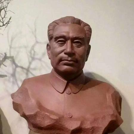 【人物雕塑1352】现代名人石雕胸像定做