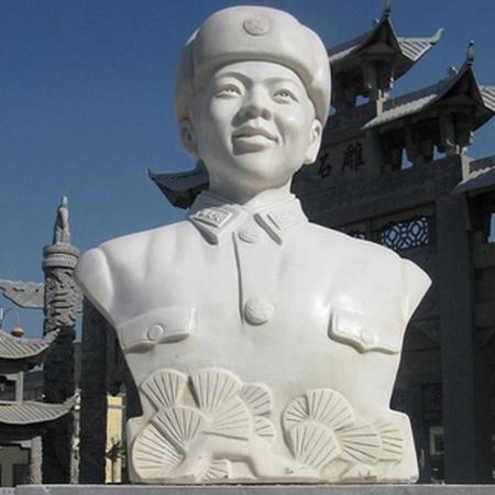 【人物雕塑1353】现代名人石雕胸像哪家好