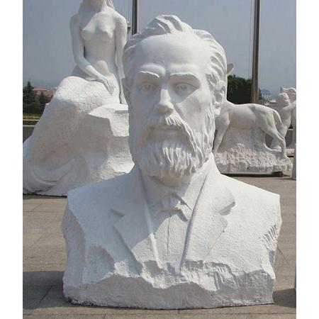 【人物雕塑1354】现代名人石雕胸像供应