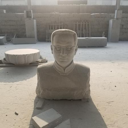 【人物雕塑1357】现代名人石雕胸像多少钱