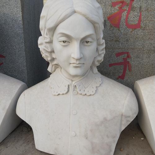 【人物雕塑1361】现代名人石雕胸像定制