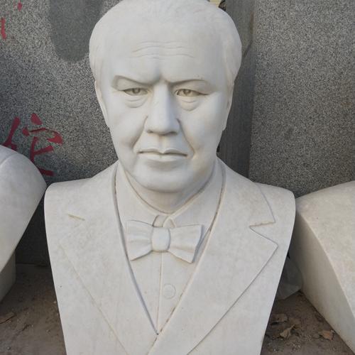 【人物雕塑1367】现代名人石雕胸像报价