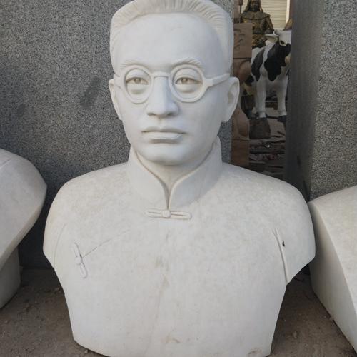 【人物雕塑1369】现代名人石雕胸像多少钱