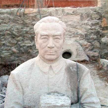 【人物雕塑1374】现代名人石雕胸像公司