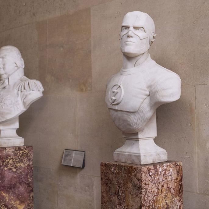 【人物雕塑1387】现代名人石雕胸像厂家