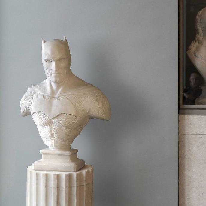 【人物雕塑1389】现代名人石雕胸像哪家好