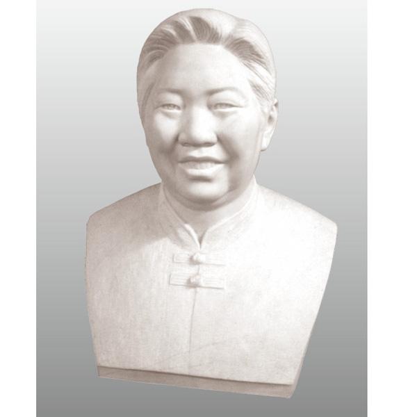 【人物雕塑1390】现代名人石雕胸像供应