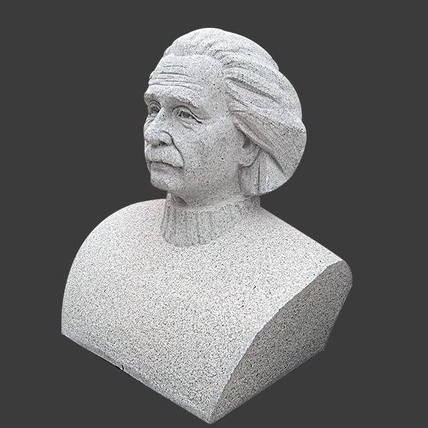 【人物雕塑1394】现代名人石雕胸像雕刻厂