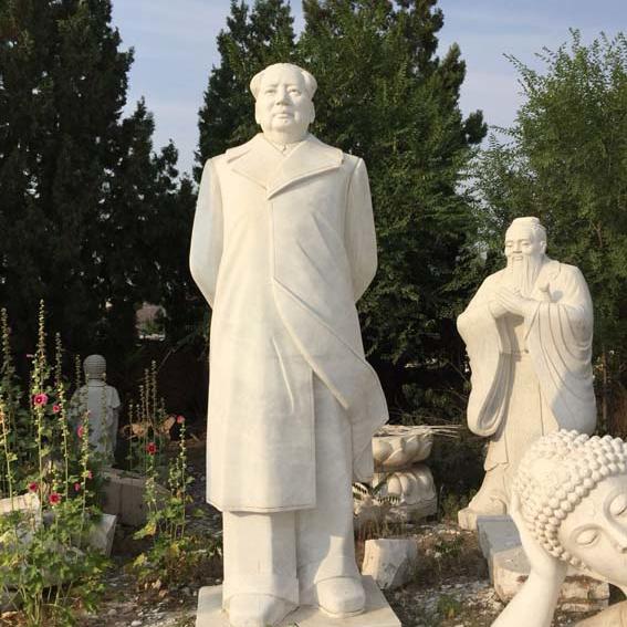 【人物雕塑1437】毛主席石雕站像哪家好