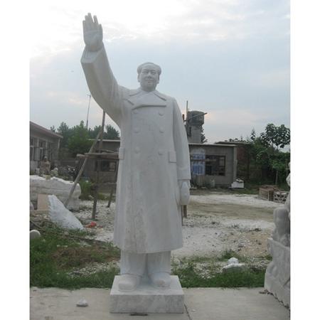 【人物雕塑1443】毛主席石雕站像厂