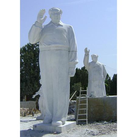 【人物雕塑1457】毛主席石雕站像定制