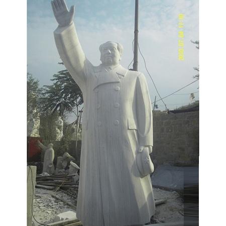 【人物雕塑1458】毛主席石雕站像公司