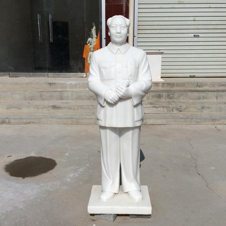 【人物雕塑1465】毛主席石雕站像多少钱