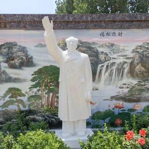 【人物雕塑1473】毛主席石雕站像哪家好