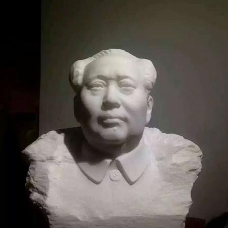 【人物雕塑1477】毛主席石雕胸像多少钱