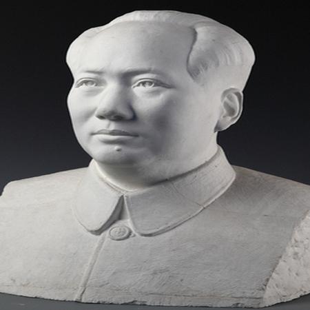 【人物雕塑1487】毛主席石雕胸像报价