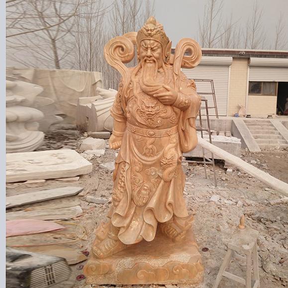【人物雕塑1657】石雕关公像多少钱
