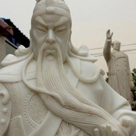 【人物雕塑1681】石雕关公像多少钱