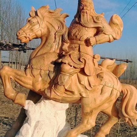 【石雕人物系列1689】石雕关公像哪家好