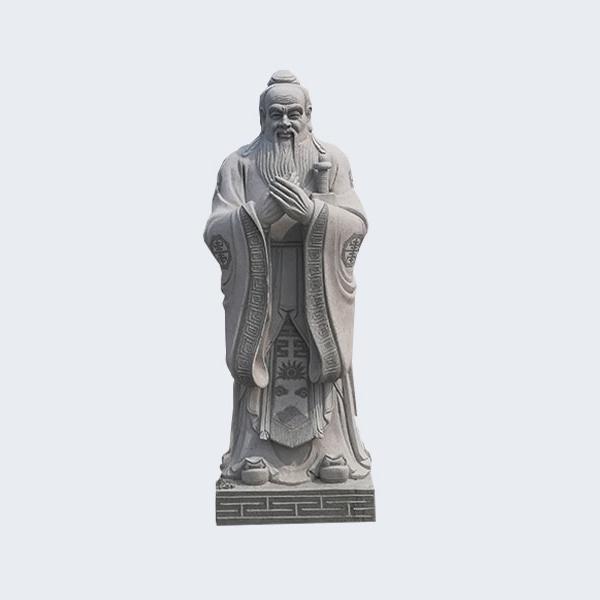 【石雕人物系列1699】石雕孔子像厂家