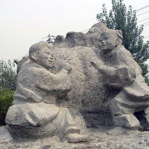 【人物雕塑1702】现代人物石雕像供应