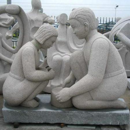 【人物雕塑1706】现代人物石雕像雕刻厂