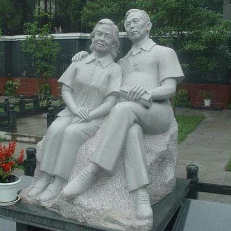 【人物雕塑1707】现代人物石雕像厂