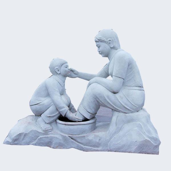 【人物雕塑1711】现代人物石雕像厂家