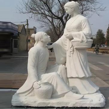 【人物雕塑1718】现代人物石雕像雕刻厂