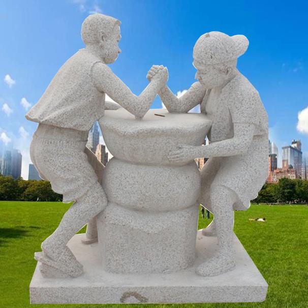 【人物雕塑1732】小品人物石雕像批发