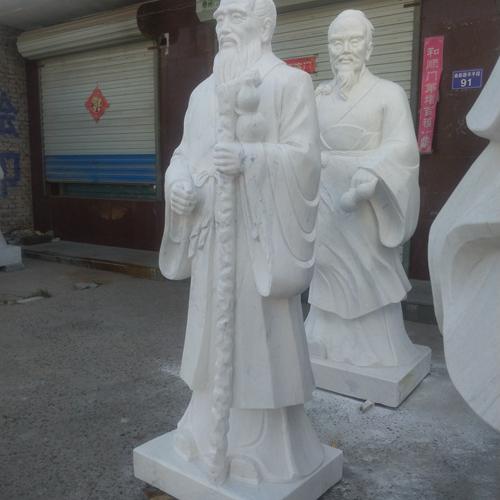 【人物雕塑1745】传说人物石雕像定制