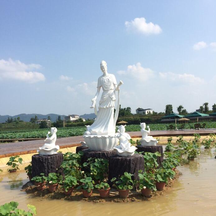 【人物雕塑1748】传说人物石雕像定做