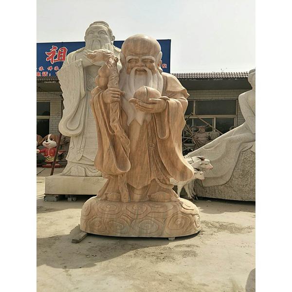 【人物雕塑1750】传说人物石雕像供应
