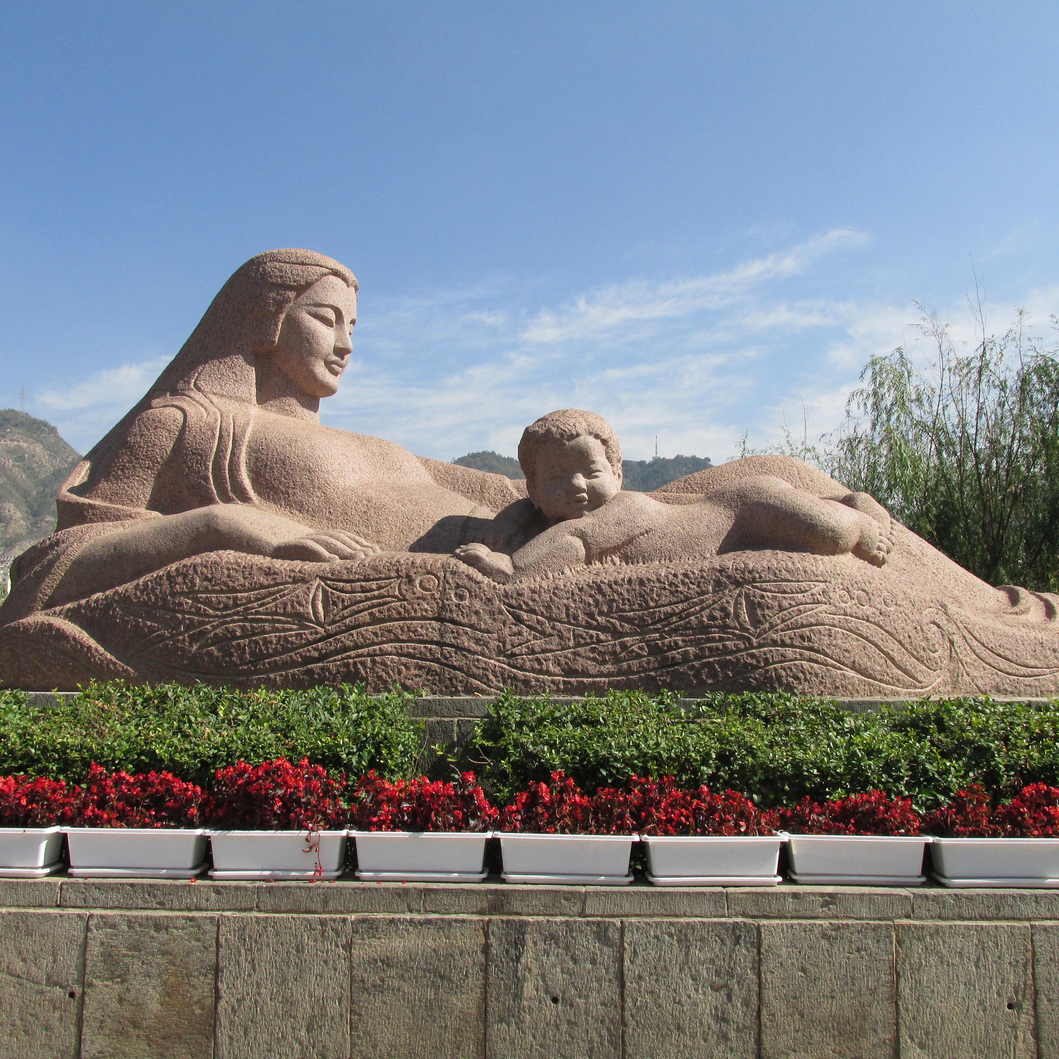 【人物雕塑1757】大型石雕人物定制