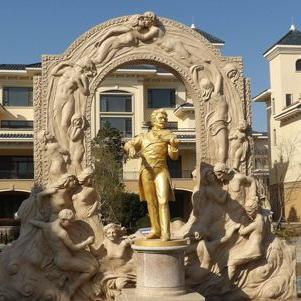 【人物雕塑1782】石雕人物公司