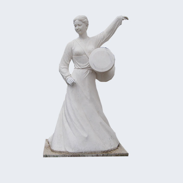 【人物雕塑2041】现代人物单体石雕像报价