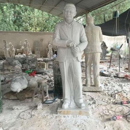 【人物雕塑2044】现代人物单体石雕像雕刻厂