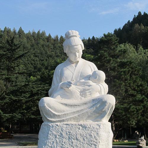 【人物雕塑2050】现代人物单体石雕像定做