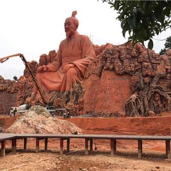 【人物雕塑2080】石雕群像雕刻厂
