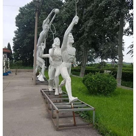 【人物雕塑2083】石雕群像定制