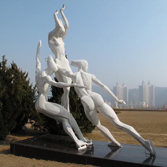 【人物雕塑2084】石雕群像公司