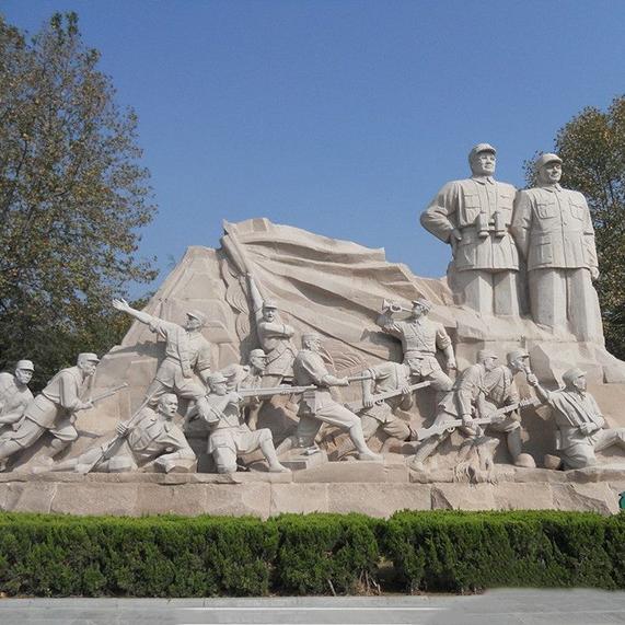 【人物雕塑2094】石雕群像批发