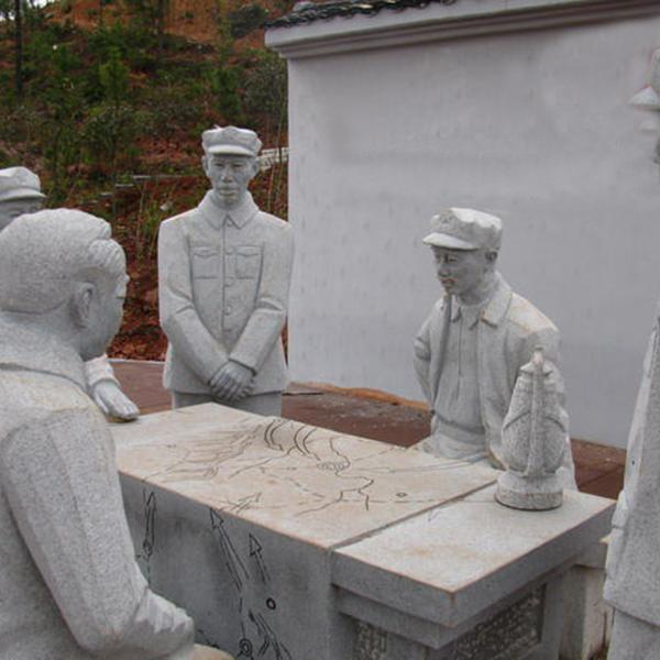 【人物雕塑2096】石雕群像公司