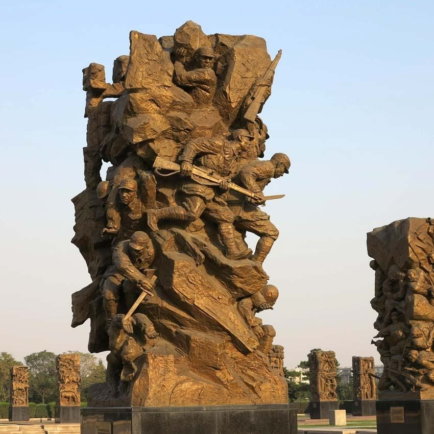 【人物雕塑2103】石雕群像多少钱