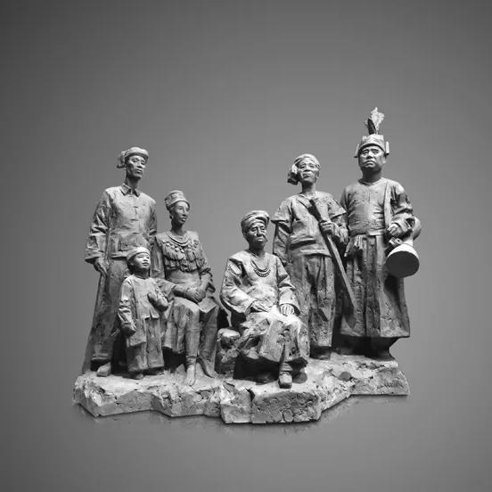 【人物雕塑2109】石雕群像厂家